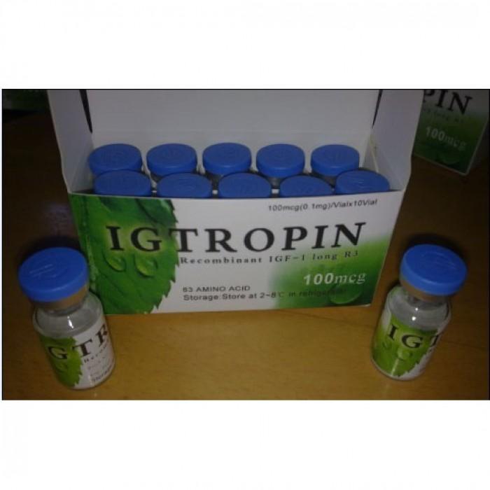 Igtropin 100 UI (IGF 1-LONG 3)