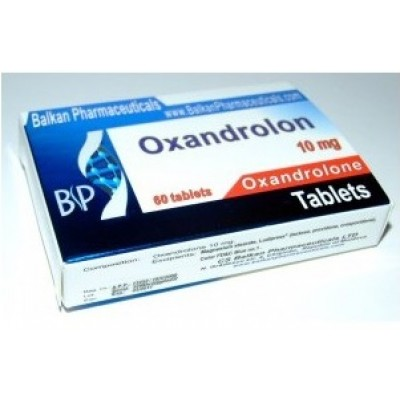 Anavar / Oxandrolon Balkan Pharmaceuticals