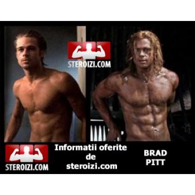 Ciclu de steroizi Brad Pitt