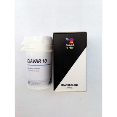 Diavar 10 mg(oxandrolon)tub/ 100 pastile