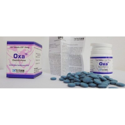 Oxa (Oxandrolon/Anavar) TITAN 10 mg
